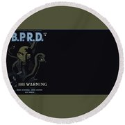 B.p.r.d. Round Beach Towel