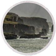 Braewick Shetland Round Beach Towel