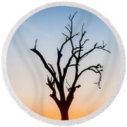 Branches Round Beach Towel