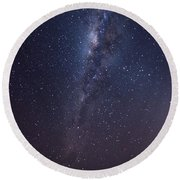 Round Beach Towel featuring the photograph Brazil By Starlight by Alex Lapidus