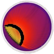 Breakaway Round Beach Towel