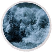 Breaker Round Beach Towel