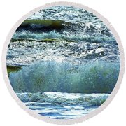 Breakers Alabama Point Round Beach Towel