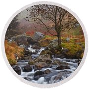 Brecon Beacons National Park 5 Round Beach Towel