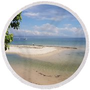 Bribie Island  Round Beach Towel