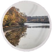 Bridgeport Factory Round Beach Towel