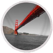 Bridgeworks Round Beach Towel