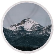 Brief Luminance Round Beach Towel