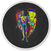Bright Angel Round Beach Towel