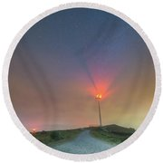Bright Spot Round Beach Towel