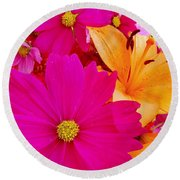 Brighten My Day Round Beach Towel