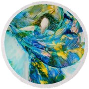 Bringing Heaven To Earth Round Beach Towel