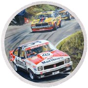 Brock's Bathurst Portrait Round Beach Towel