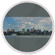 Brooklyn Round Beach Towel