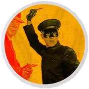 Bruce Lee Kato And The Green Hornet - Square Round Beach Towel