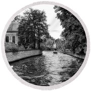 Bruges Bw2 Round Beach Towel