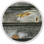Brushed - Round Beach Towel
