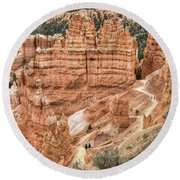 Bryce Canyon Round Beach Towel by Geraldine Alexander