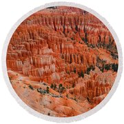 Bryce Canyon Megapixels Round Beach Towel