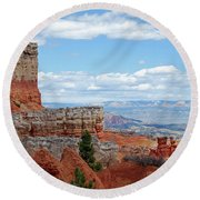 Bryce Canyon Round Beach Towel by Nancy Landry