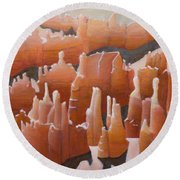Bryce Canyon Round Beach Towel
