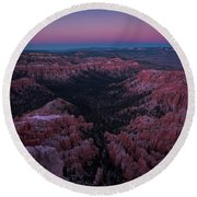 Bryce Point Round Beach Towel