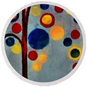 Bubble Tree - Dps02c02f - Right Round Beach Towel