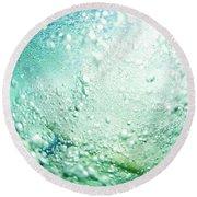 Bubbles Round Beach Towel