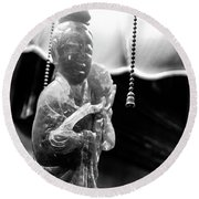 Buddha's Light Round Beach Towel