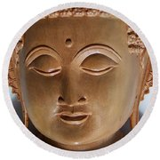 Budha Round Beach Towel