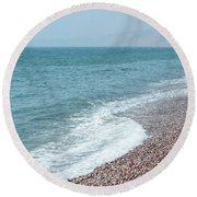 Budleigh Seascape II Round Beach Towel