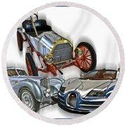 Bugatti Evolution Round Beach Towel