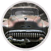 Buick Eight Special Round Beach Towel