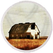 Round Beach Towel featuring the photograph Built To Last by Julie Hamilton