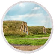 Bunkers Round Beach Towel