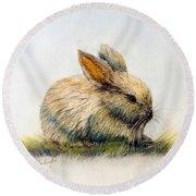 Bunny Round Beach Towel