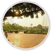 Buon Ma Thuot City Park Round Beach Towel