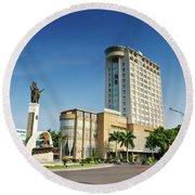 Buon Ma Thuot City Square Round Beach Towel