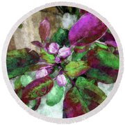 Buoyancy Of Nature Round Beach Towel by Tlynn Brentnall