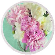 Burst Of Spring Round Beach Towel