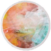 Butterfly Dream - Colorful Art Photography Round Beach Towel