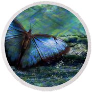 Butterfly Dreams 2015 Round Beach Towel