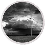 Bw Mill Round Beach Towel