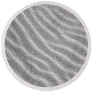Bw6 Round Beach Towel by Charles Harden