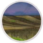 By A Different Light Round Beach Towel