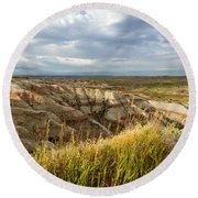 By Morning Light Round Beach Towel