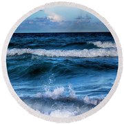 By The Sea Series 03 Round Beach Towel