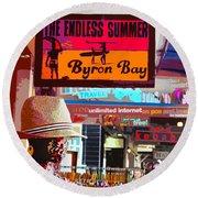 Byron Bay Summer Round Beach Towel