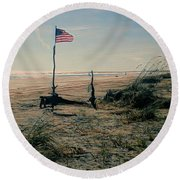 C To Shining C Round Beach Towel