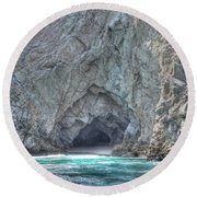 Cabo Cave Round Beach Towel